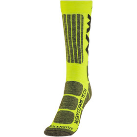 Northwave Husky Ceramic Tech 2 High Socks yellow fluo